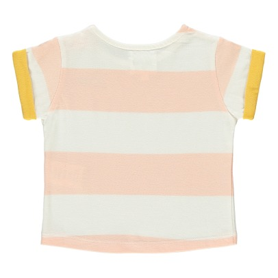 "Blune Kids T-shirt Rayé Broderie ""Pop"" Bigoût-product"