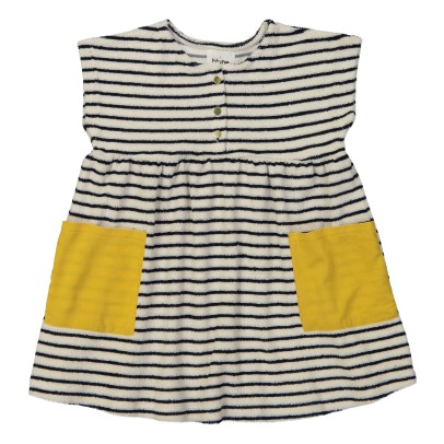 Blune Kids Love Boat Sweat Stripe Dress-listing