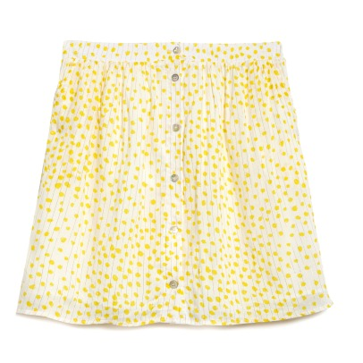 Blune Sunlight Dot Skirt-listing