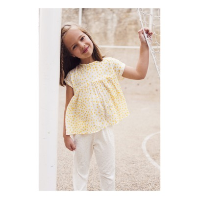 Blune Kids Blouse Pois Rayures Lurex Sunlight-listing