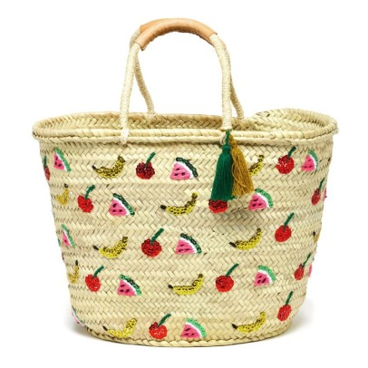 Blune Tutti Frutti Wicker Shopper-listing