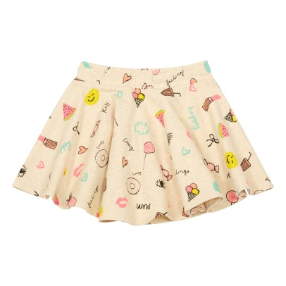 Soft Gallery Lena Emoji Fleece Skirt-listing