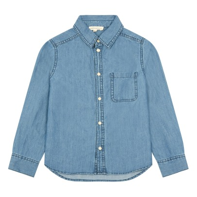 Hundred Pieces Chambray Hemd Light-listing