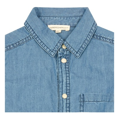 Hundred Pieces Light Denim Shirt-listing