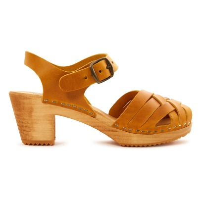 Leon & Harper Stockholm Leather Clogs-listing