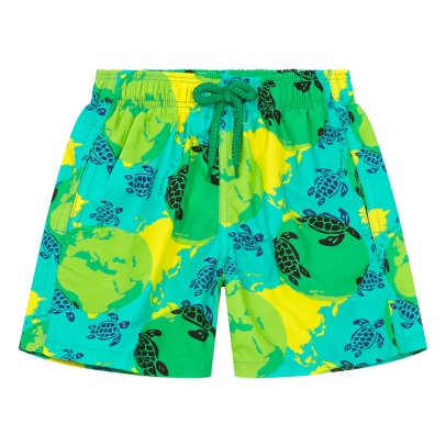 Vilebrequin Dots World Map Organic Swimshorts-listing