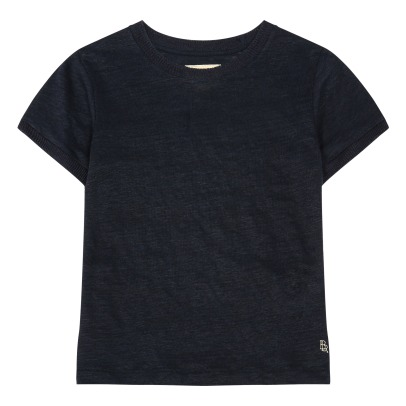 Bellerose T-shirt Lin Bords Côtes Mogo81-listing