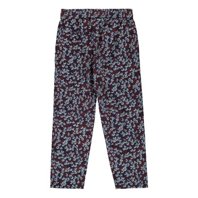 Sunchild Spirit Cotton Flower Loose Trousers-listing
