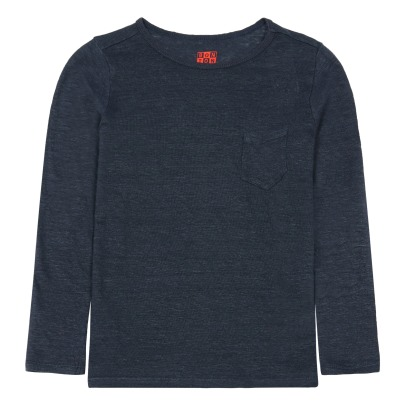 Bonton Linen T-Shirt With Pocket-listing