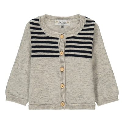 Les lutins Cardigan a righe Colette -listing