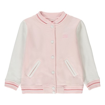 Bonton Two-Tone Baseball Jacket-listing