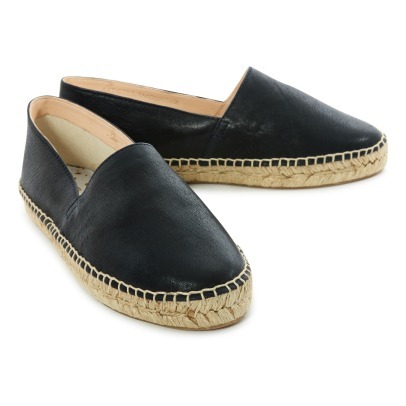 Craie Simple Leather Sole Espadrilles-listing