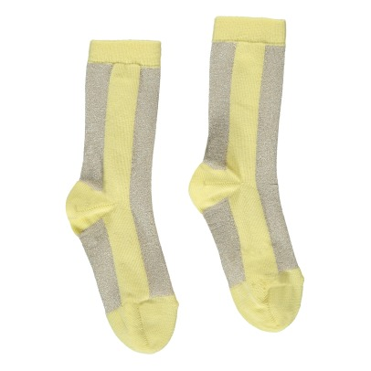 Simple Kids Elise Lurex Two-Tone Socks-listing
