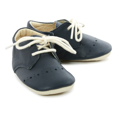 Young Soles Buddy Leather Lace-Up and Velcro Mary Janes-listing