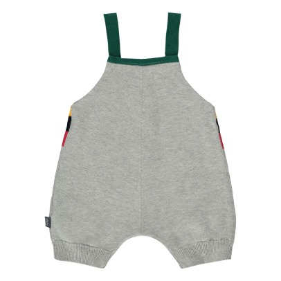 Imps & Elfs Multicoloured Stripe Dungarees-listing