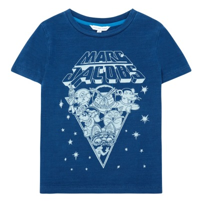 Little Marc Jacobs T-Shirt Space Rock Tiere -listing
