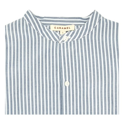 Caramel Guri Striped Shirt-listing