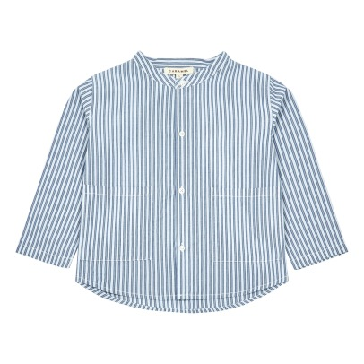 Caramel Guri Striped Shirt-product