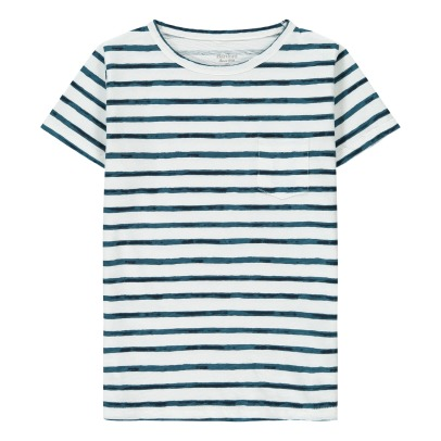 Hartford Pocket Striped T-Shirt-listing