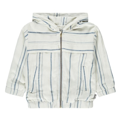 Imps & Elfs Zip-Up Striped Hooded Jacket-listing