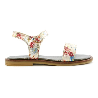 Pèpè Two Con Me - Flower Velcro Sandals-listing