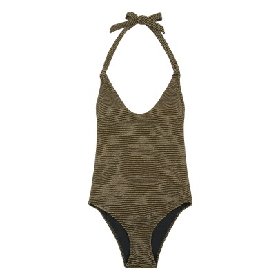La Nouvelle Sacha Striped Lurex 1 Piece Swimsuit-listing