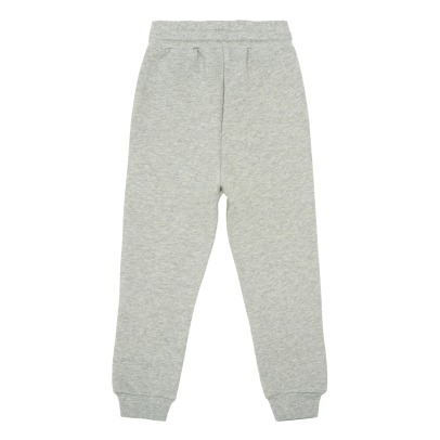Popupshop Organic Cotton Embroidered Roller Skate Jogging Bottoms-listing