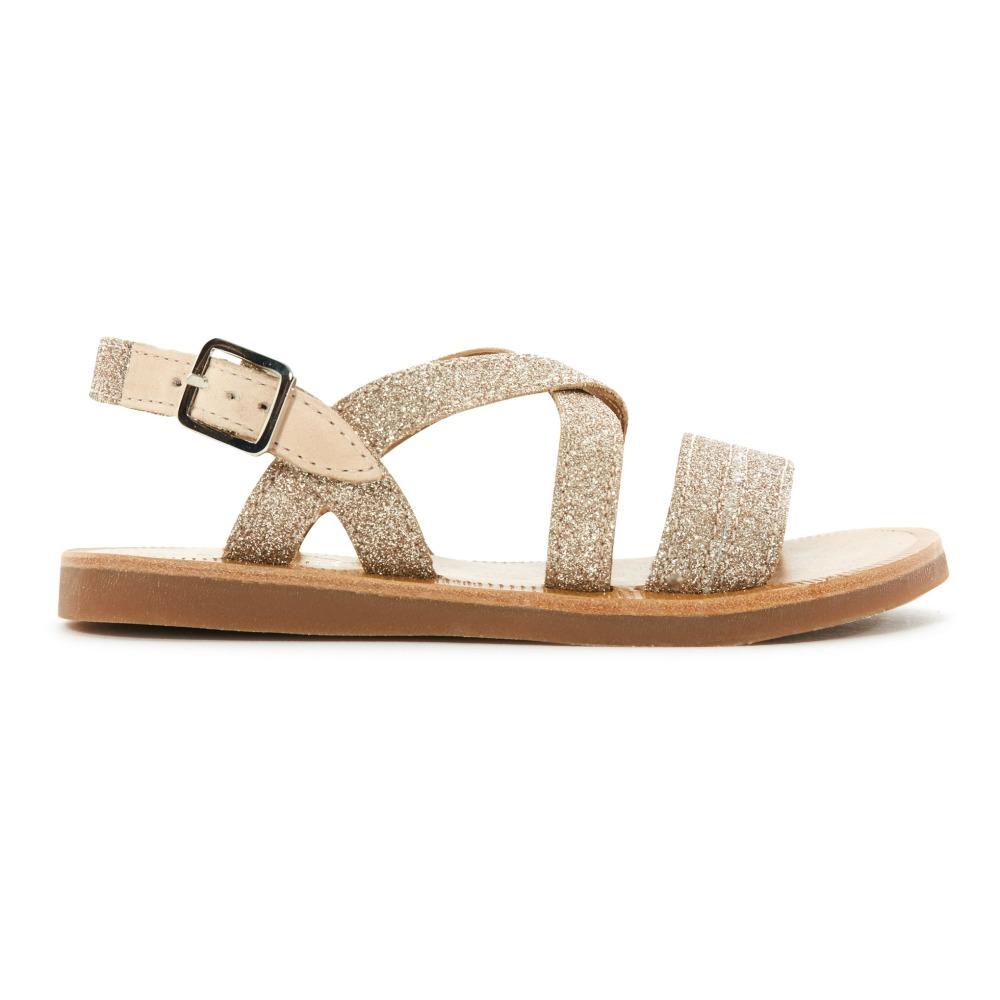 Sandales Plagette Lagon Glitter - Pom d'Api 8eHFY7SrW