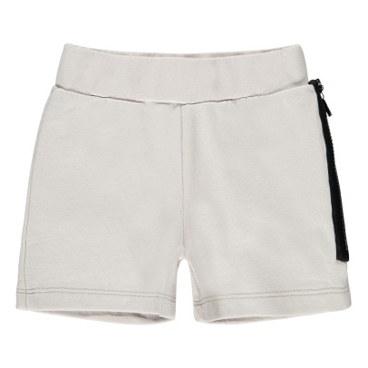 Douuod Zip Sweat Shorts-listing