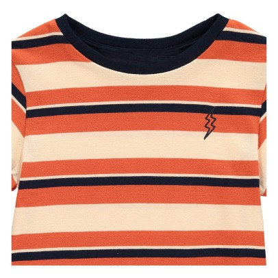 Hundred Pieces Flash Striped T-Shirt-listing