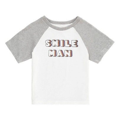 Hundred Pieces T-Shirt Smile Man-listing