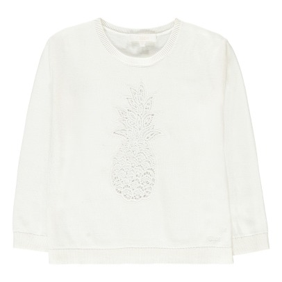 Chloé Pull Guipure Ananas-listing