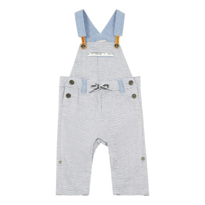 Timberland Striped Cotton Dungarees-listing