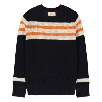 Bellerose Ulog Stripe Ribbed Jumper-listing