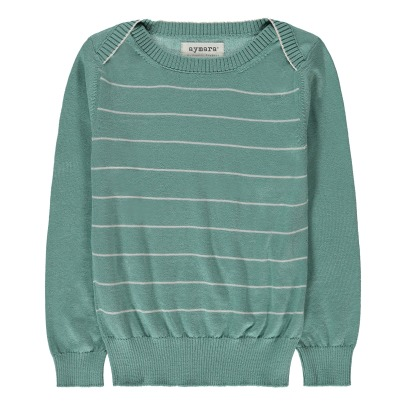 Aymara Goro Pima Cotton Striped Jumper-listing