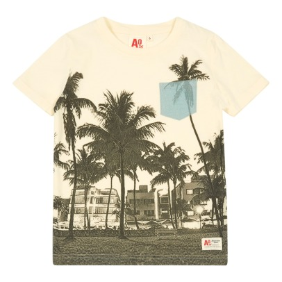 AO76 Palm Tree Miami T-Shirt-listing