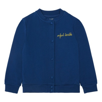 Maison Labiche Teddy-Jacke Enfant Terrible Stickerei -listing
