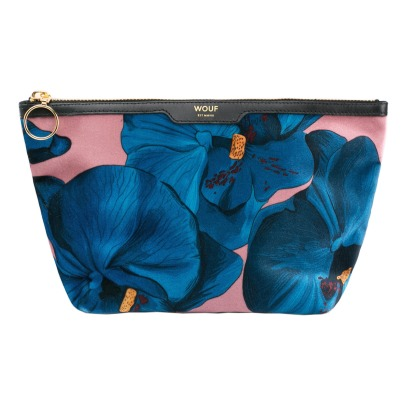 Wouf Orchid Velvet Toiletry Bag-listing