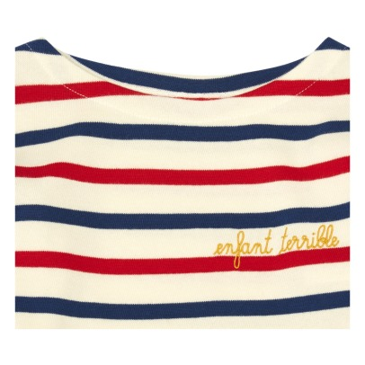Maison Labiche Camiseta Marinera Bordada Enfant Terrible-listing