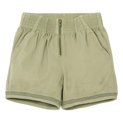 Sale - Ariela High Waisted Organic Cotton Shorts - Stella McCartney Kids Stella McCartney B5bIX2Q9