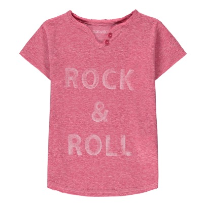 Zadig & Voltaire T-Shirt Tunisien Rock&Roll Boxo-listing
