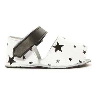 Minorquines Frailera Star Leather Velcro Trainers-listing