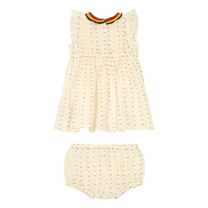 Stella McCartney Kids Robe + Bloomer Plumetis Apricot-product