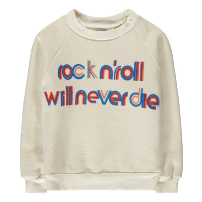 "Atelier Barn Sweatshirt Souple ""Rock n'roll"" Bob-listing"