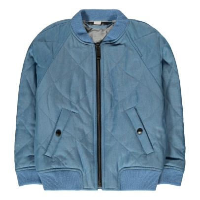 Burberry Blossom Quilted Bomber Jacket-listing