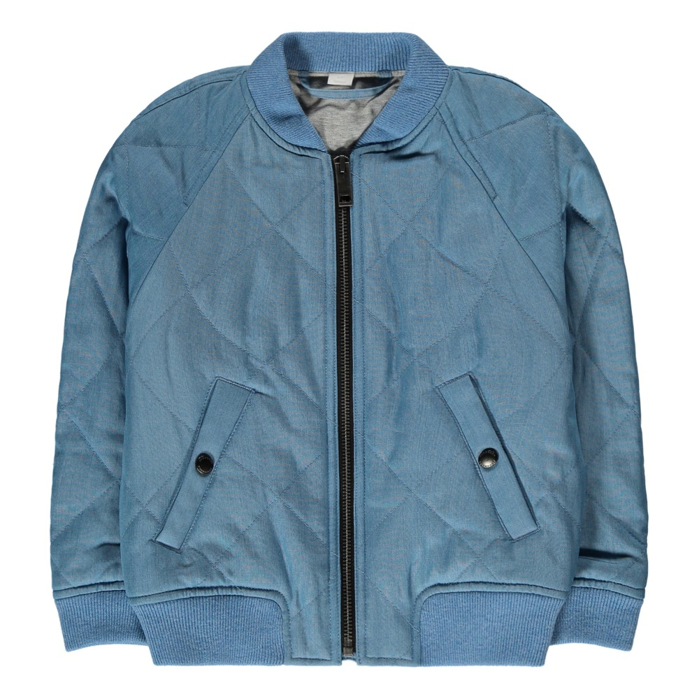 Sale - Conwin Printed Lining Bomber Jacket - Burberry Burberry Sale Prices Cheap Real Authentic 100% Guaranteed Sale Online oY1B3Ue7o