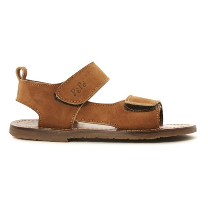 Pèpè Velcro Leather Sandals-listing