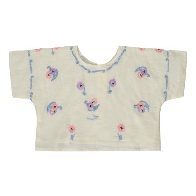 Atelier Barn Pam Embroidered Crop Top-listing