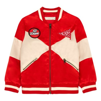 Stella McCartney Kids Bomber Bicolore Willow-listing