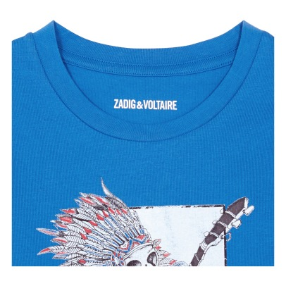 Zadig & Voltaire T-Shirt Guitare Kita-listing